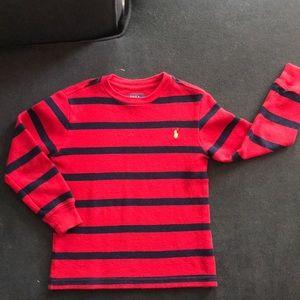 Boys size 5 long sleeve knit sweater